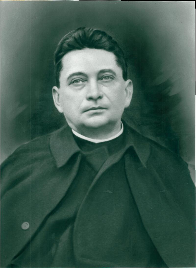 Fájth Jenő apát, a Szent Vér templom építtetője